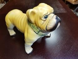 Kutya porcelán figura