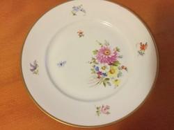 Herendi virágmintás kis tányér