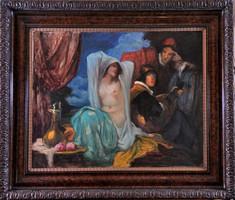 Udvary Géza (1872–1932): Reneszánsz jelenet