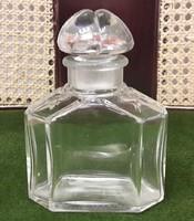 Hibátlan francia parfümös üveg