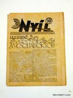 1932 március 17  /  NYÍL  /  RÉGI EREDETI MAGYAR ÚJSÁG Szs.:  3953