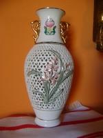 Jean Pouyat Limoges váza  100% HIBÁTLAN 20,7 CM