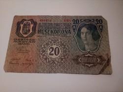1913-as 20 korona II . kiadás