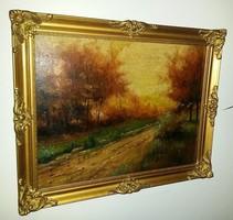 Eladó a képen látható Kriffel festmény