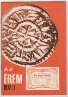 Az Érem 1977/1 - numizmatikai folyóirat