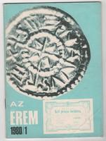 Az Érem 1980/1 - numizmatikai folyóirat