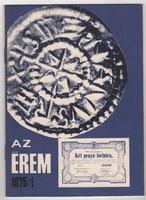 Az Érem 1975/1 - numizmatikai folyóirat