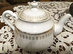 Teáskiöntő szecessziós porcelán