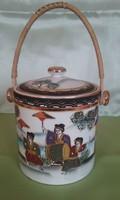 Japán teafűtartó