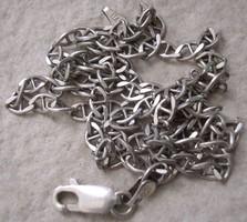 925 ezüst nyaklánc, olasz, használt