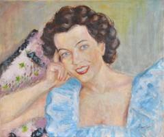 Emőd Aurél (1897-1958): Női portré, 1930-as évek
