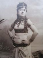EREDETI FOTÓ FÉNYKÉP KÉP Jászai Mari SZÍNÉSZ színművésznő Antonius és Cleopátra BUDAPEST 24 x 18 cm