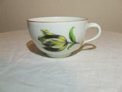 Meissen ,Meisseni virágos porcelán csésze