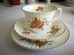 Antik angol teás süteményes együttes 1