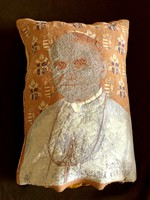 2.János Pál pápa Totus Tuus,címeres emlékpárna 1991.