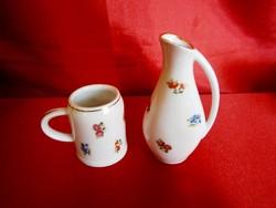 Unter weis bach porcelán kancsó váza és korsó