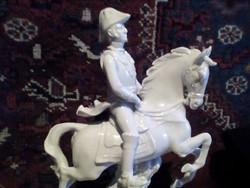 Lovas porcelán szobor !!!