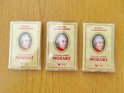 Mozart MC - Kedvenc klasszikusaink - 3 db. kazetta egyben
