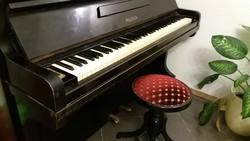 110 éves páncéltőkés pianino