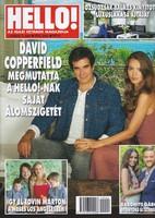 HELLO magazin - David Copperfield, gyűjteményből szép állapotban