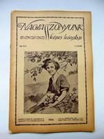 1916  /  NAGYASSZONYUNK  /  RÉGI ÚJSÁG Ssz.: 485