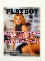 2000 február -  /  PLAYBOY  /  SZÜLETÉSNAPRA RÉGI EREDETI MAGYAR ÚJSÁG Szs.:  4445