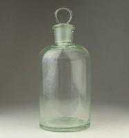 0P994 Antik dugós gyógyszertári patika üveg 250ml