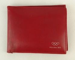 0Q161 Müncheni olimpia pénztárca emléktárgy 1972