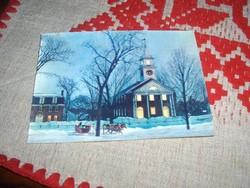Háromdimenziós képeslap/karácsonyi/