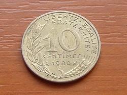 FRANCIA 10 CENTIMES 1980
