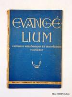 1943 november 15  /  EVANGÉLIUM  /  RÉGI EREDETI MAGYAR ÚJSÁG Szs.:  3838