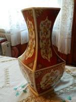 ÜNNEPI AKCIÓ !!! Gyönyörű jelzett antik keleti madármintás váza