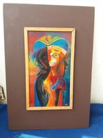 Béni Mária tűzzománc kép