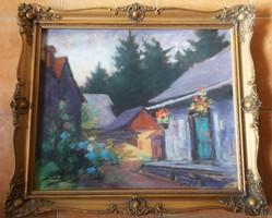 Sztelek Norbert -Nagybányai házak 1933