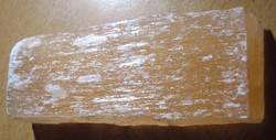 Narancs kalcit téglatest