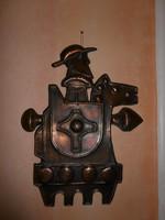 Iparművész rézlemez Don Quijote