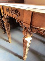 Antik neoreneszánsz asztal
