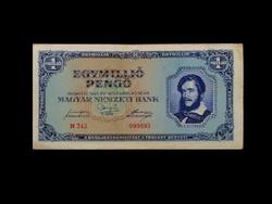 EGYMILLIÓ PENGŐ - SZÉP FESZES TARTÁSBAN 1944