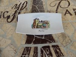 Budapest Aqiuncum souvenir ajándék tárgy  Tata felirattal