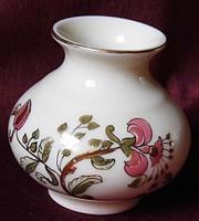 Zsolnay  váza ,hibátlan ( 1 )