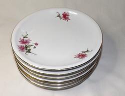 Alföldi porcelán süteményes tányérok 6 db