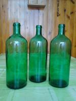 Régi üveg, palack  1 L.