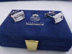 Real Madrid ezüst mandzsetta 925-ös