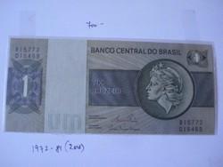 Brazilia 1 cruzeiro