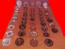 Kerámia fali tányér és kancsó gyűjtemény 191db