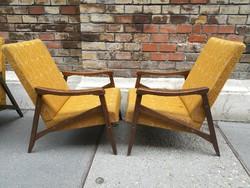 Skandináv jellegű kiméretű Design fotelek 4db