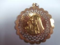 18K arany medál