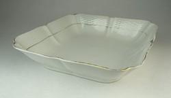 0Q756 Régi Meisseni porcelán tésztás kínáló tál
