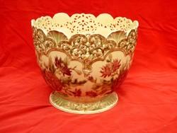 Zsolnay kaspó váza óriási és gyönyörű darab