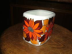 Ritka ART DECO jellegű  Hollóházi  váza